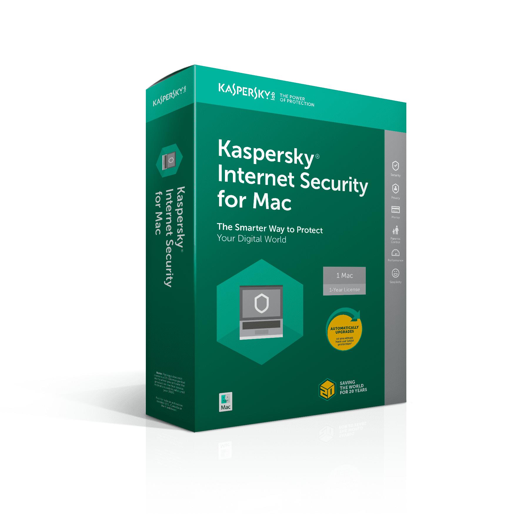 Kaspersky Internet Security for Mac screenshot