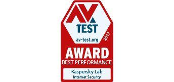 AV-Test Award: Best Performance 2015