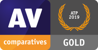AV-Comparatives 2019 Award Enhanced Protection Gold