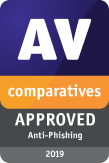 AV-Comparatives Anti-Phishing Certification 2019
