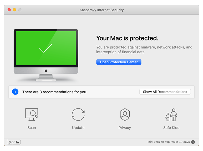 Kaspersky Internet Security for Mac 2019 | Antivirus for Mac