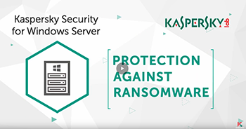 PROTECT YOUR CORPORATE NETWORK FROM RANSWOMWARE WITH JUST ONE CLICK