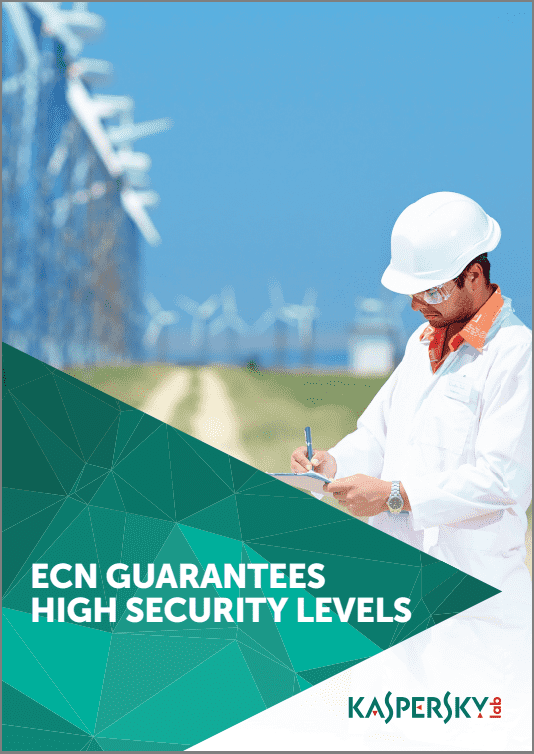 ECN GUARANTEES HIGH SECURITY LEVELS