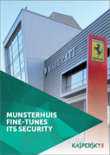 MUNSTERHUIS FINE-TUNES ITS SECURITY