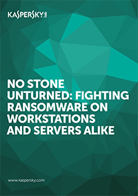 NO STONE UNTURNED: FIGHTING RANSOMWARE ON WORKSTATIONS AND SERVERS ALIKE